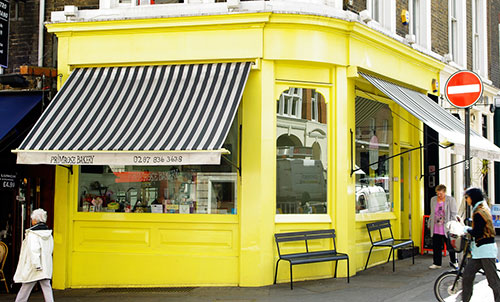 The Primrose Bakery in London