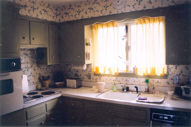 My Grandma Marsh's kitchen in New Jersey