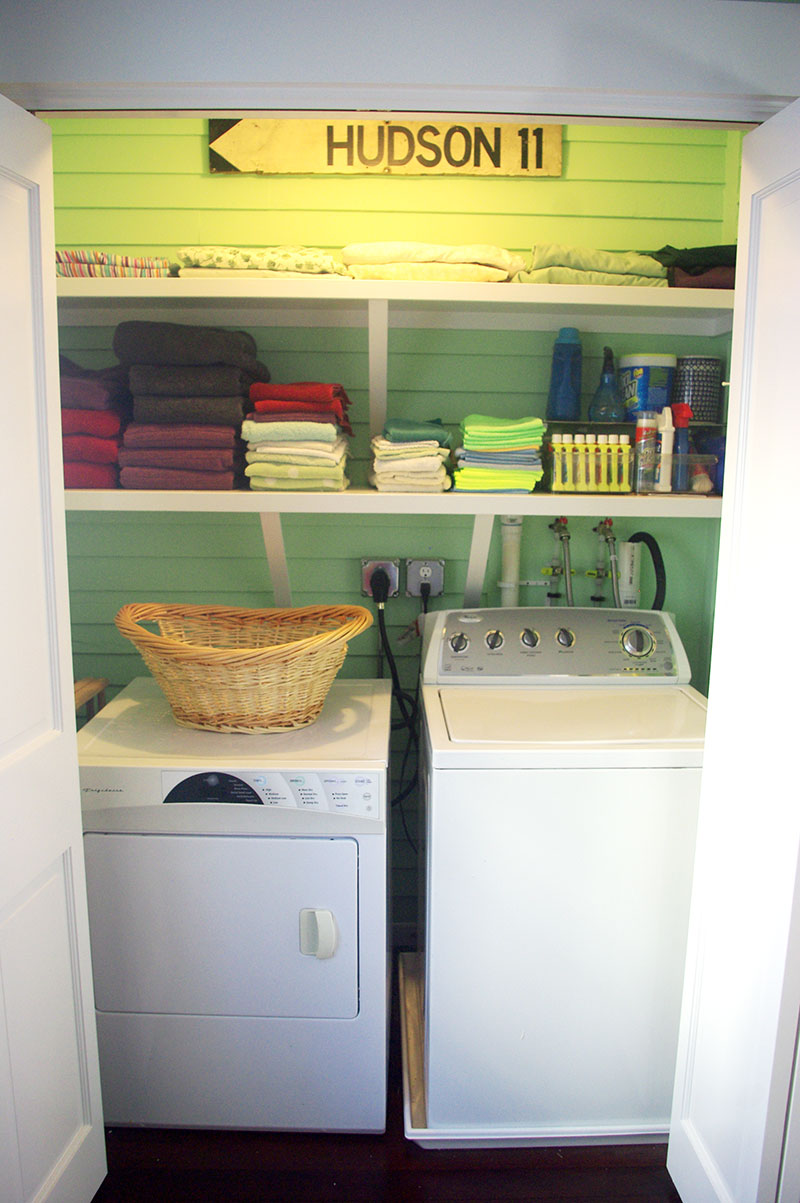 The new laundry room
