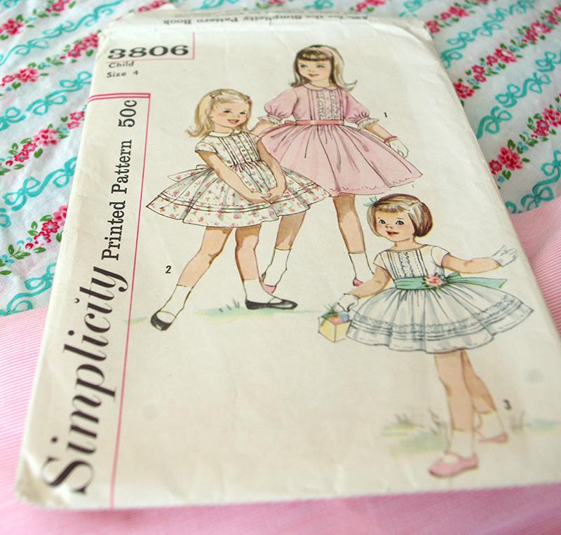 Vintage Simplicity pattern 3806