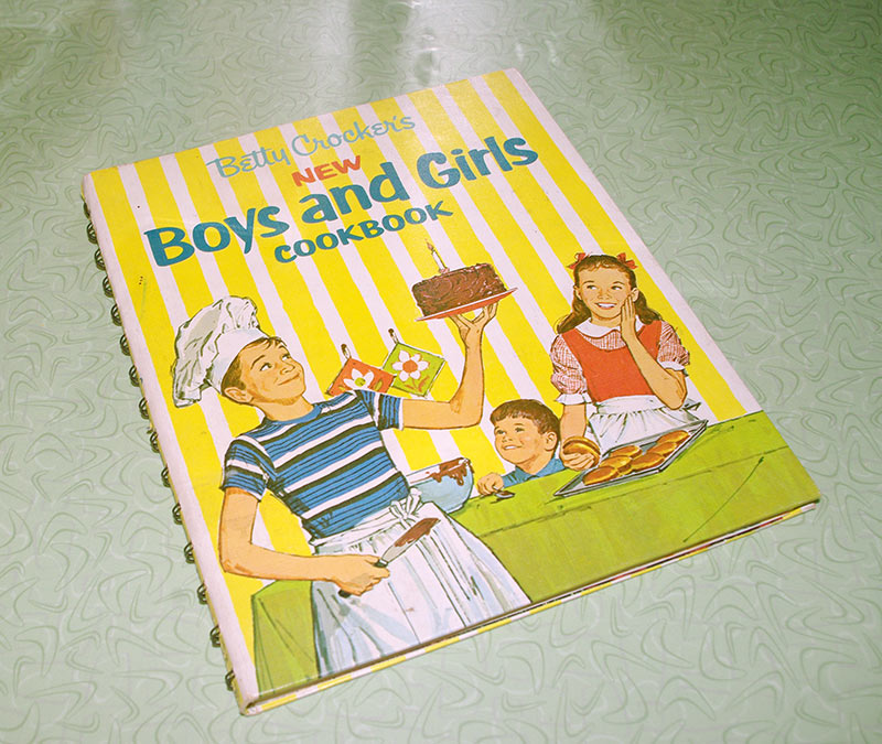 "1965s ""Betty Crocker's New Boys and Girls Cookbook"""
