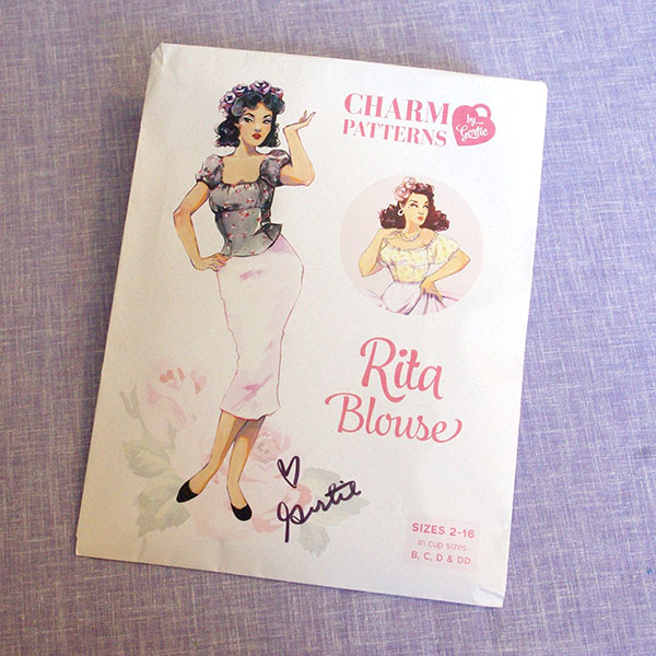 "The envelope for the ""Rita Blouse"""