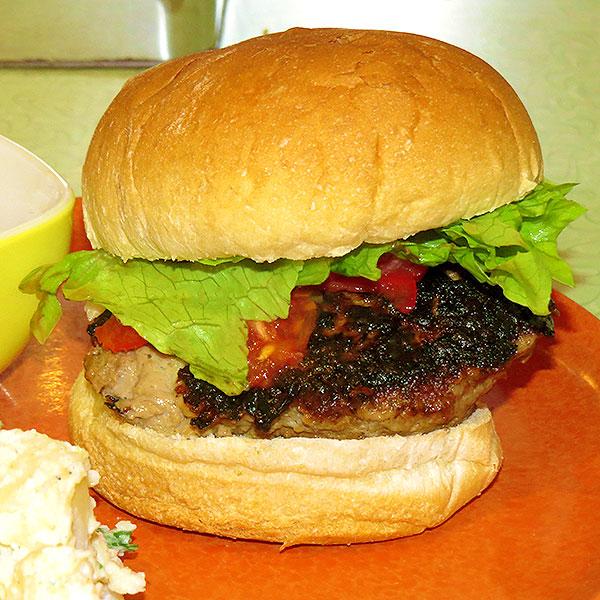 The final burger