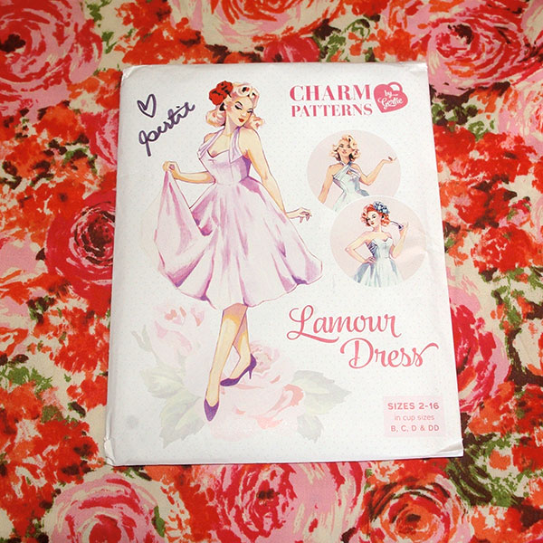"The ""Lamour Dress"" by Charm Patterns"