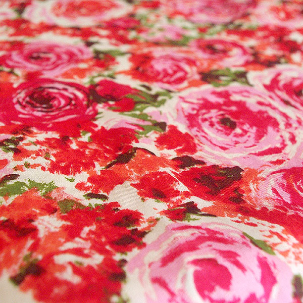 The sateen fabric from the Gertie Fabric Collection