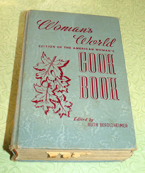 """Woman's World Edition Of The American Woman's Cook Book"", from 1939"
