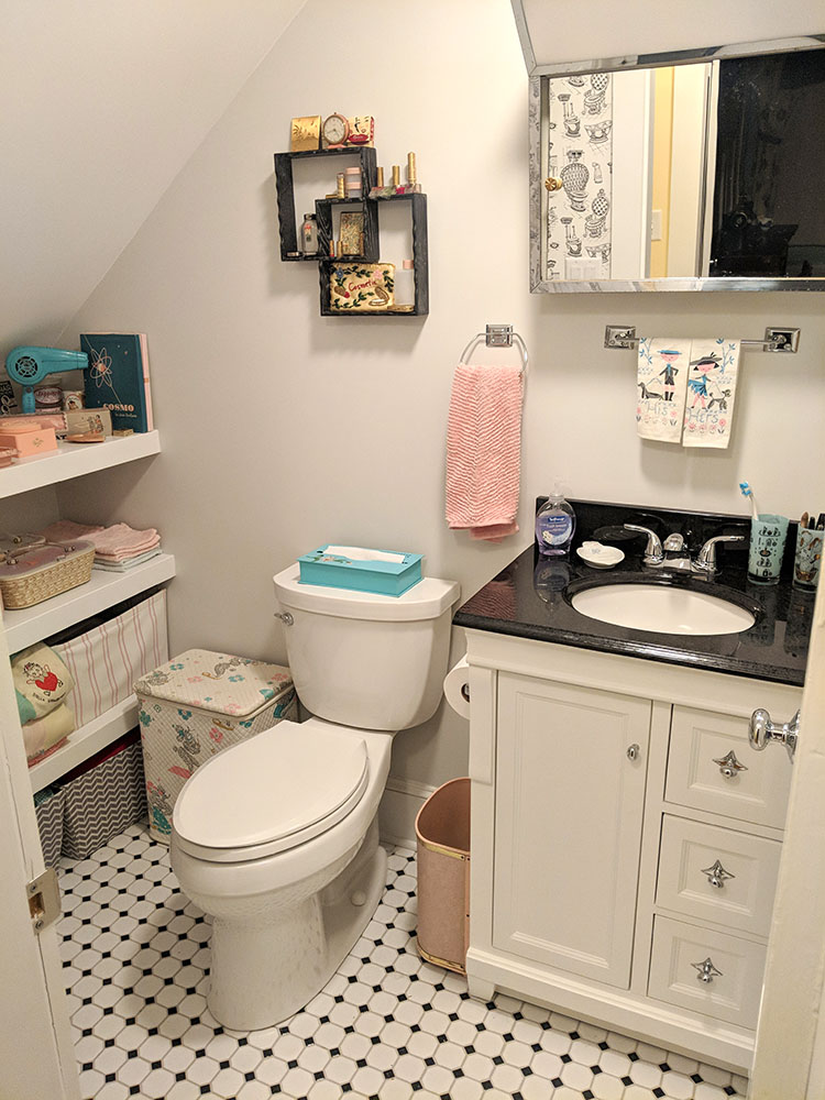 Our new bathroom.