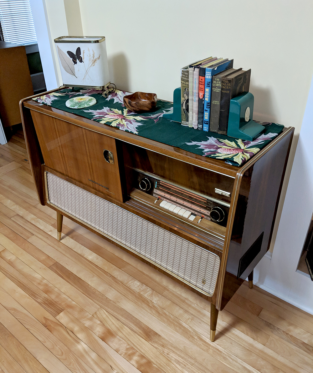 """Our """"new"""" Grundig Majestic"""