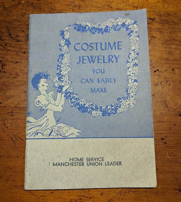 """Costume Jewelry You Can Easily Make"" By Natalie Morgan, Illustrated by Clare McCanna"
