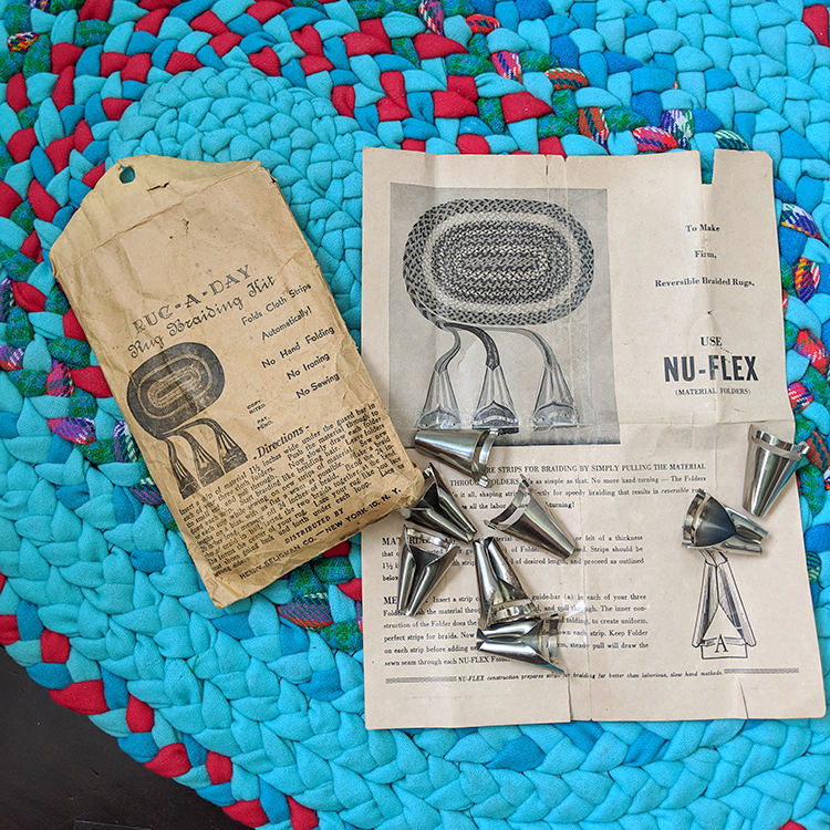 "The Nu-Flex ""Rug-A-Day"" Rug Braiding Kit"
