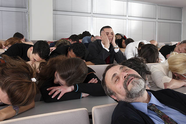 Don't put your audience to sleep!