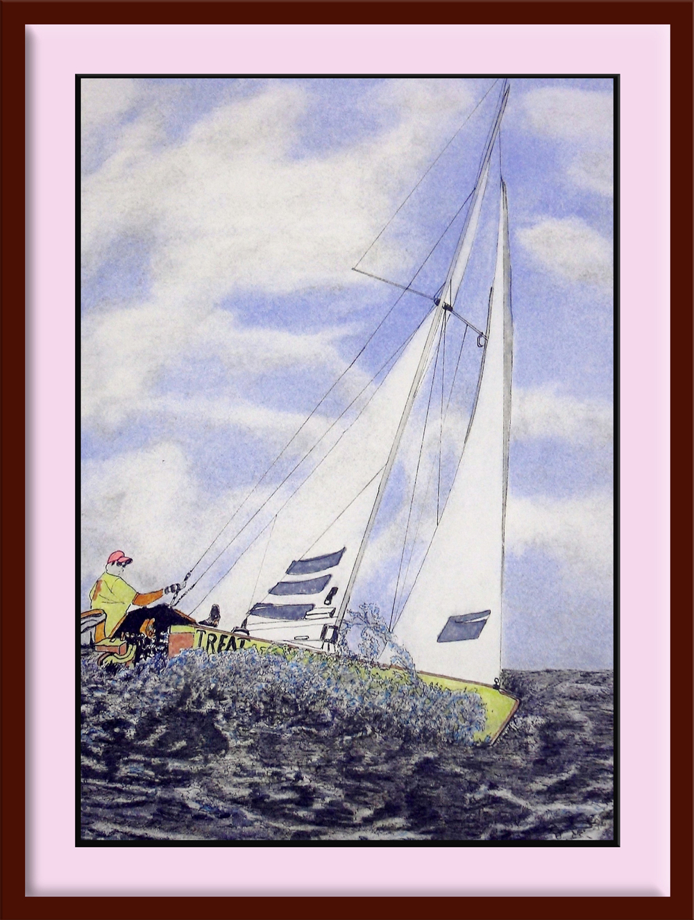 CLEAR SAILING Framed