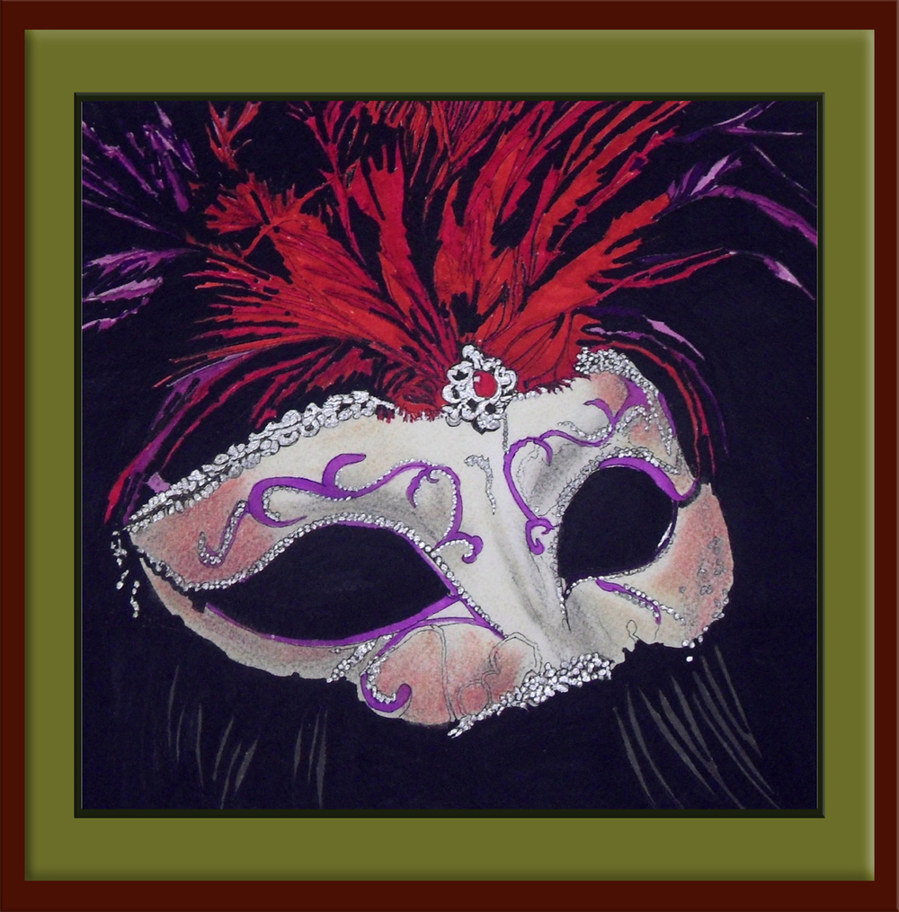 THIS MASQUERADE Framed