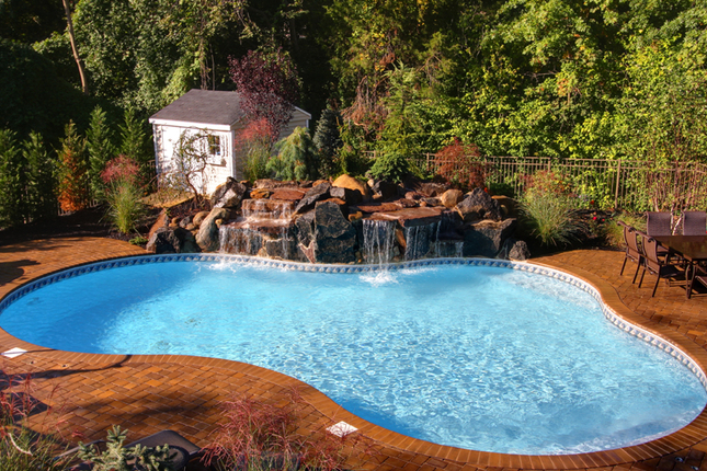 Our inground swimming pool and spa services in new jersey for Pool design new jersey