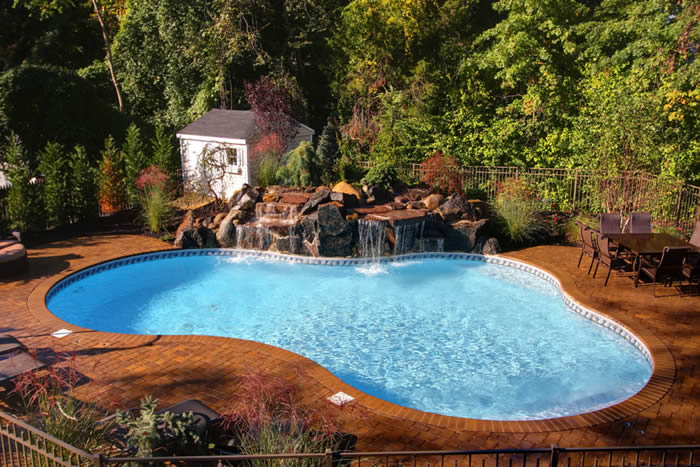 gunite inground pool designs 7 custom gunite inground pools