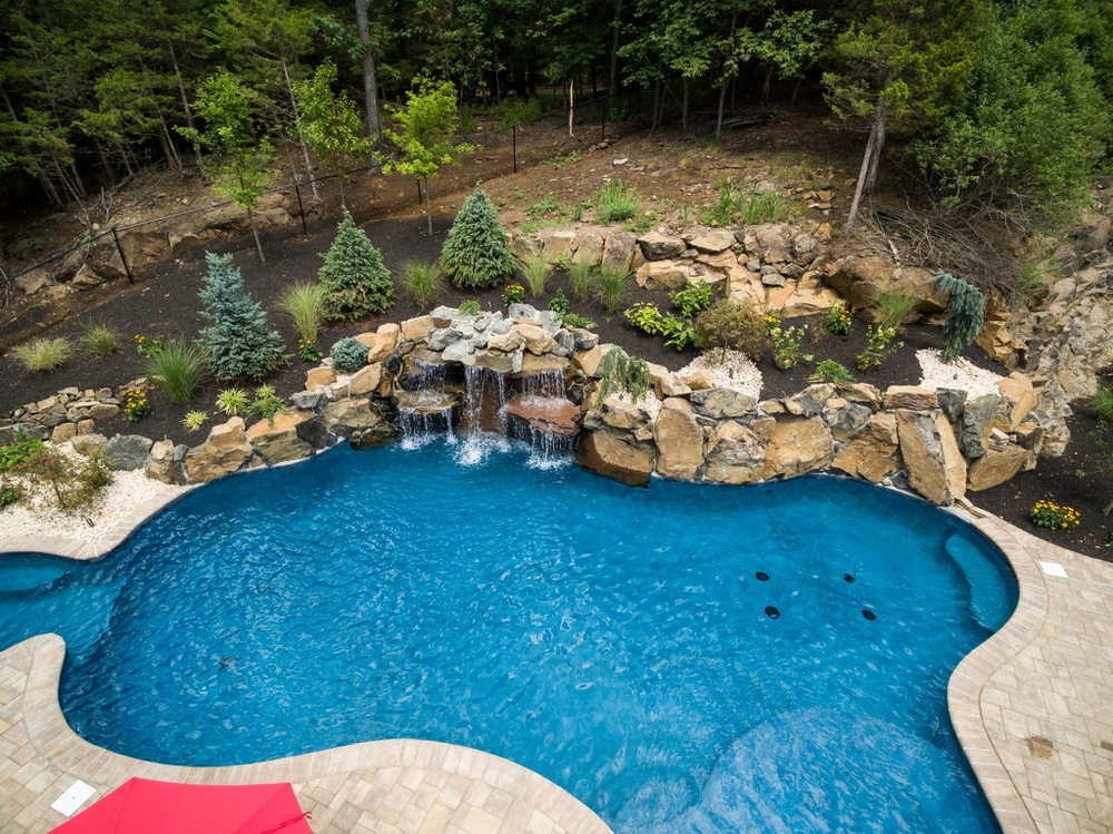 Custom Pools By Design outdoor kitchen designs awesome backyard designs with pool and outdoor 11 Pools By Design Nj Custom Pools Spas