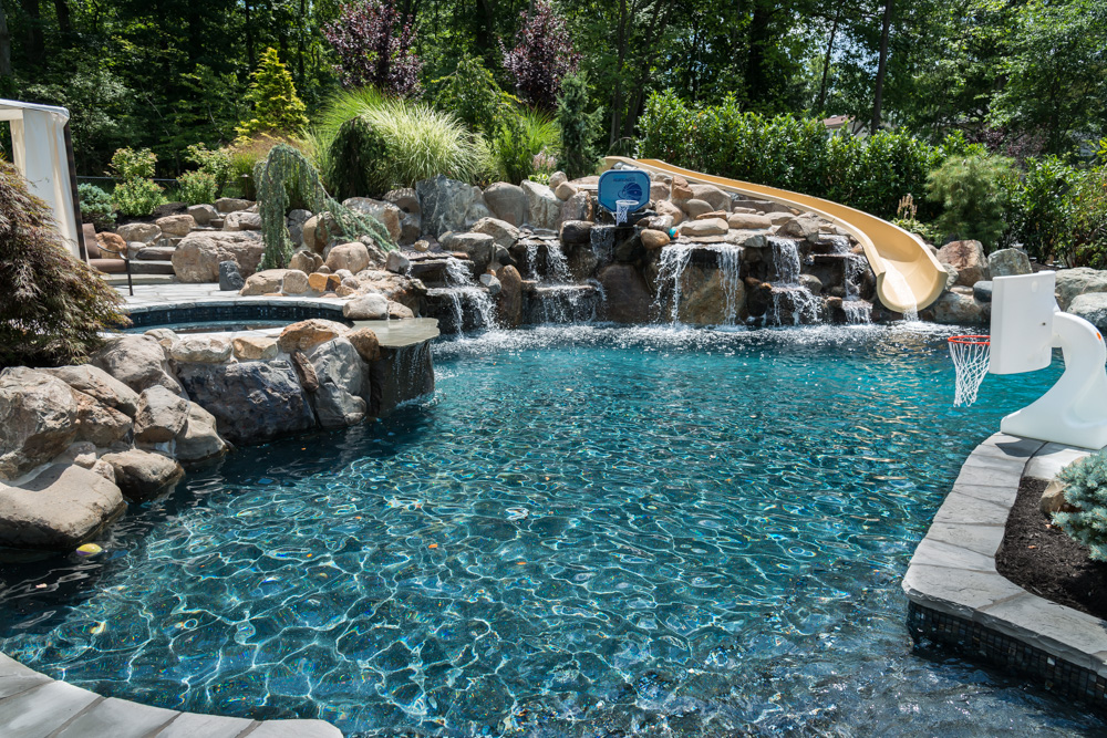 custom gunite pools and spas livingston nj 2