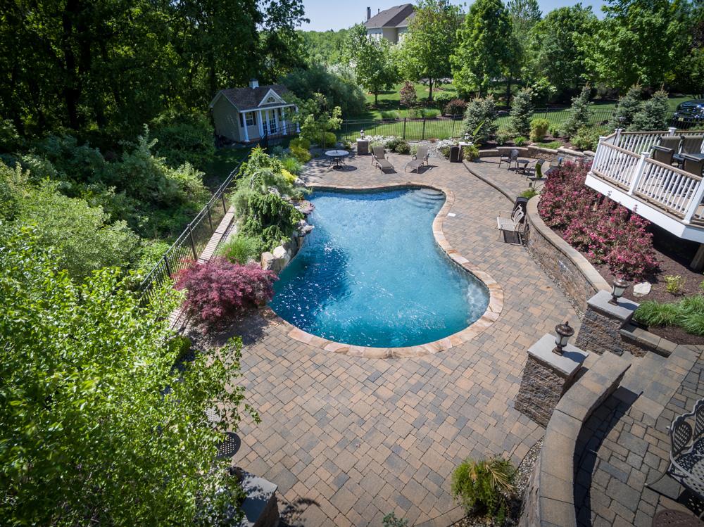 custom gunite pools and spas chester nj 8