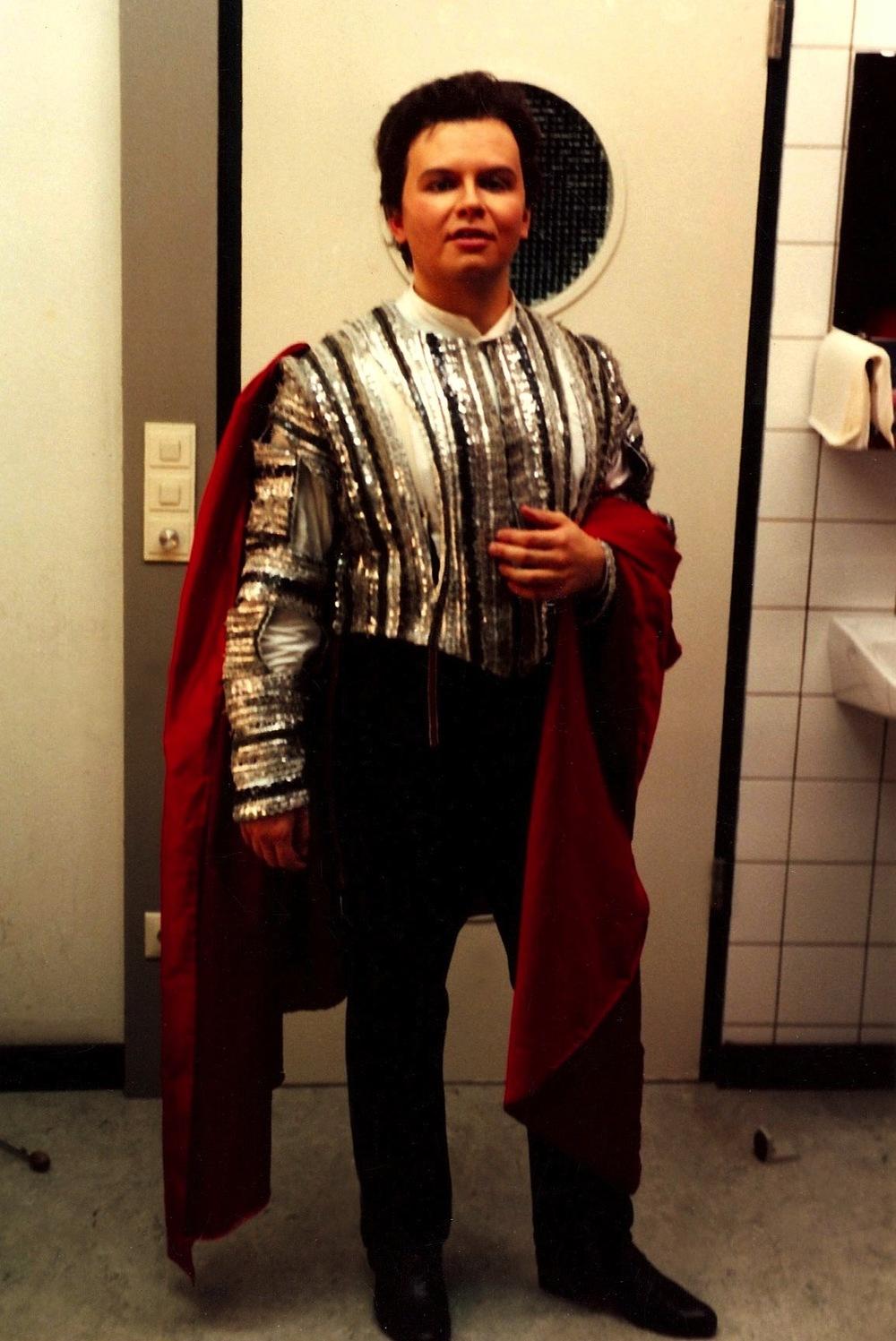 As Count Almaviva in  Il Barbiere di Siviglia , Badisches Staatstheater, Karlsruhe.