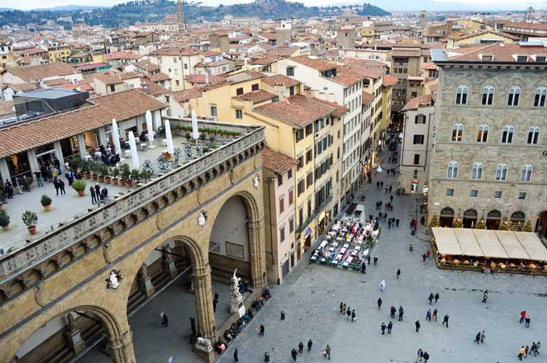 Piazza della Signoria in Firenze