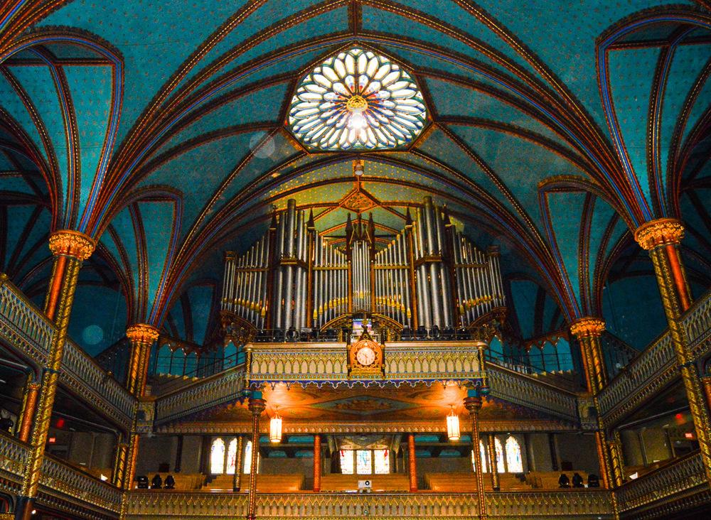 TheCasavant Fréres pipe organ