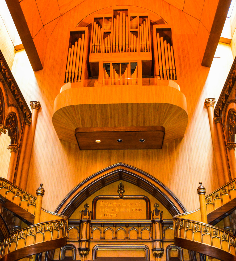 Chapelle du Sacré-Cœur (Chapel of the Sacred Heart): Organ