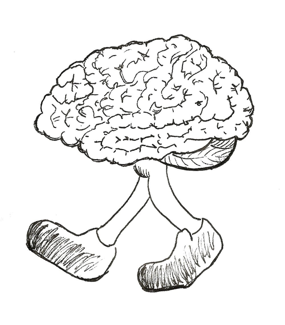 Exercise for your brain (an E. K. Goodman drawing)