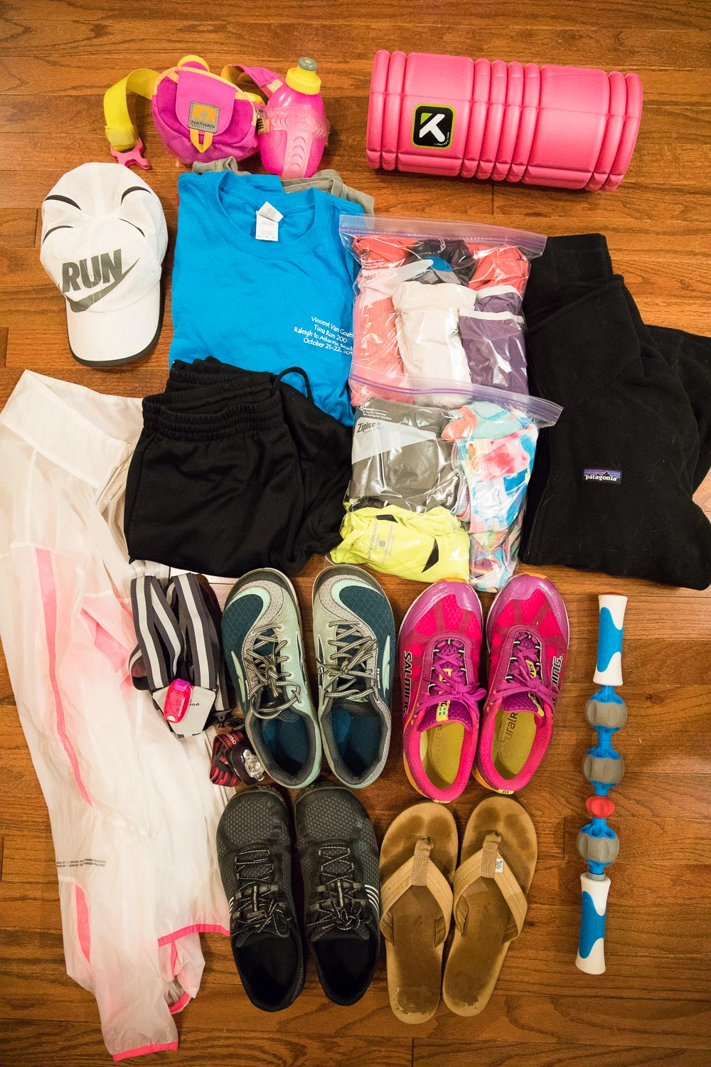 Tuna Run 200 Packing List