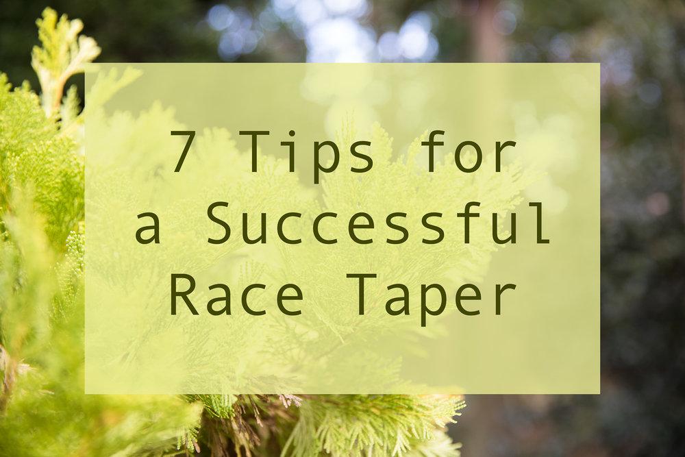 Race Taper