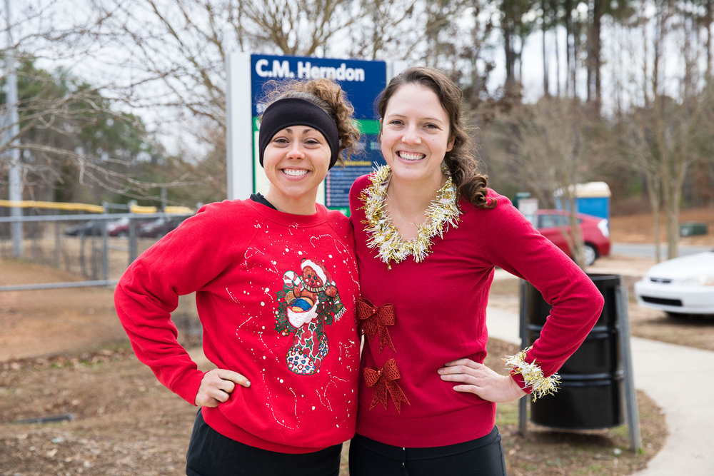 The Displaced Period Project Ugly Sweater Fun Run