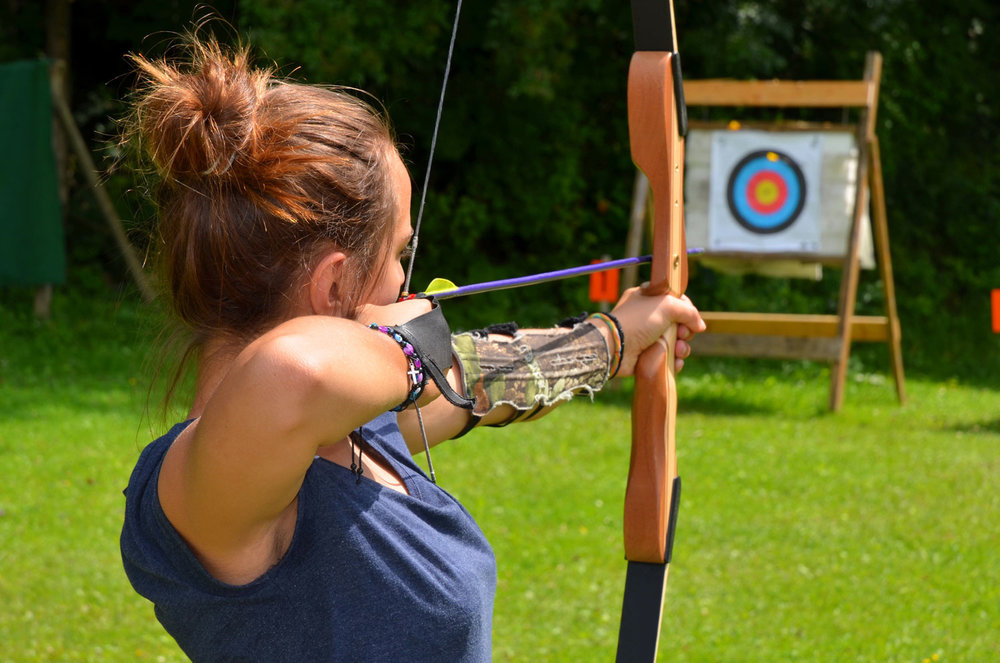Valentine's Day adventure dates - archery lesson. (Licensed Adobe stock image)