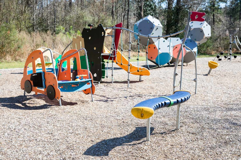 Isn't that the coolest playground?!