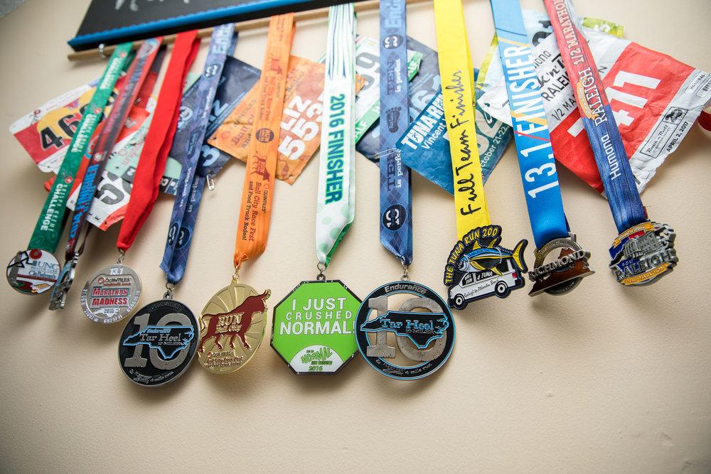 Medal rack
