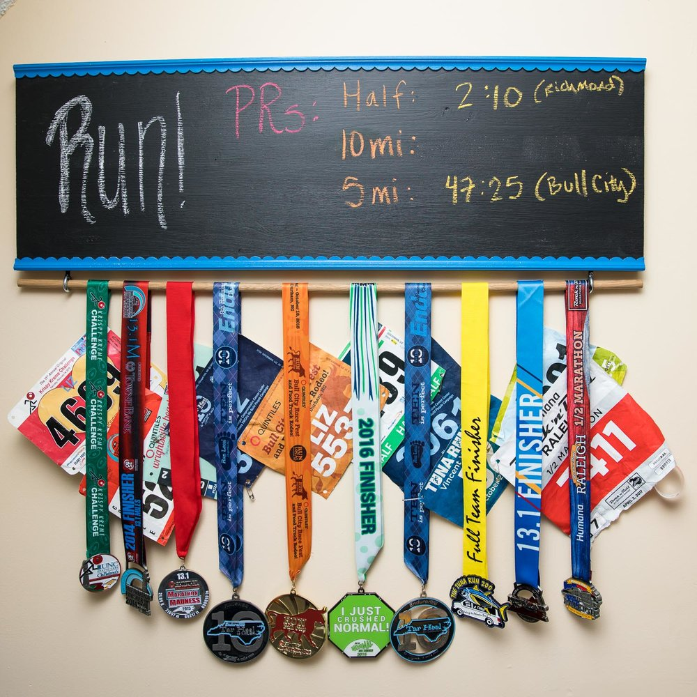 DIY Medal Rack