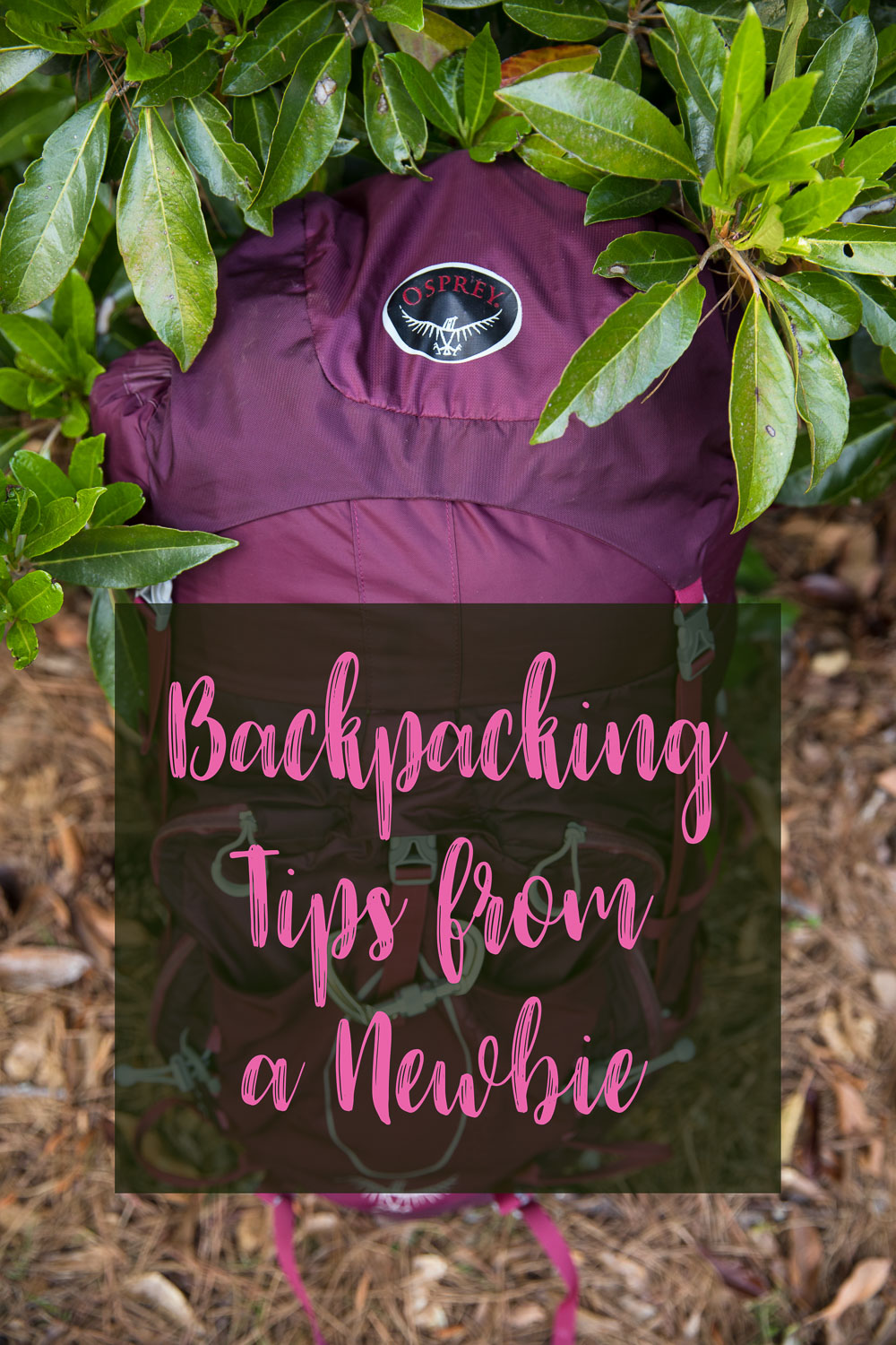 Backpacking Tips and Lessons Learned from a Newbie! Great tips for hiking the Appalachian Trail