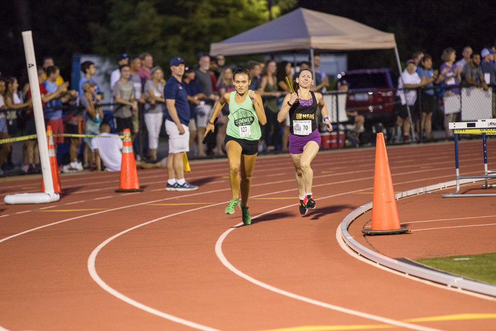 Triangle Clash Mile Relay