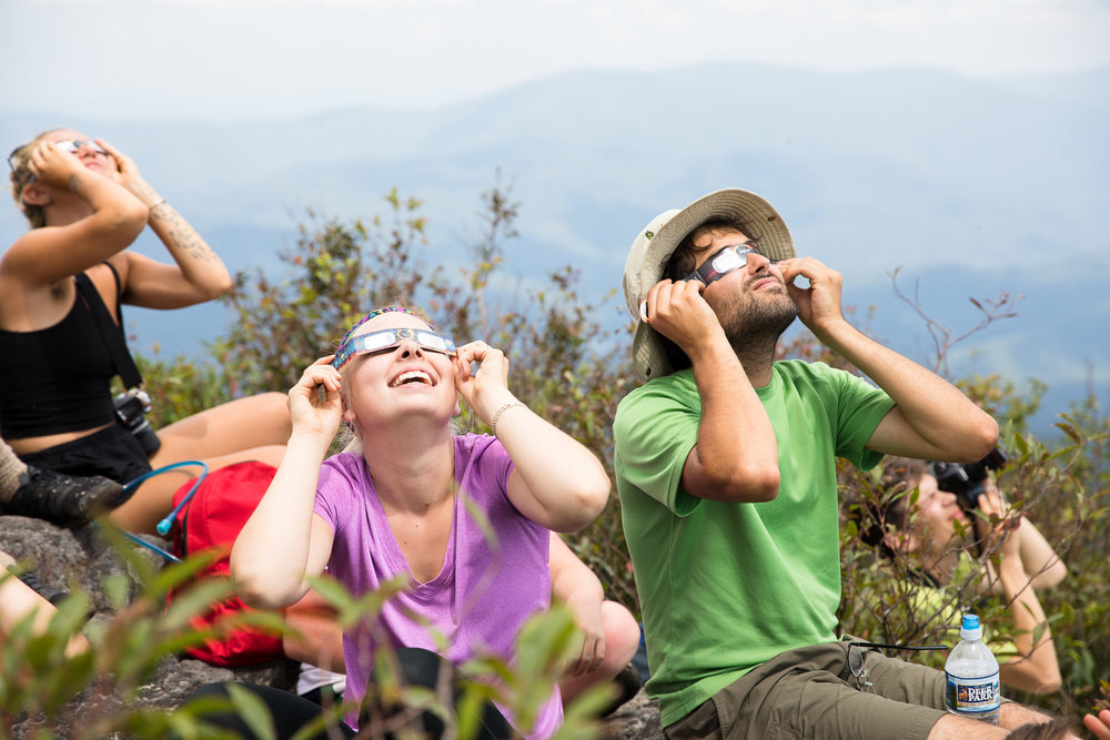 Watching Eclipse at The Hangover Joyce Kilmer-Slickrock