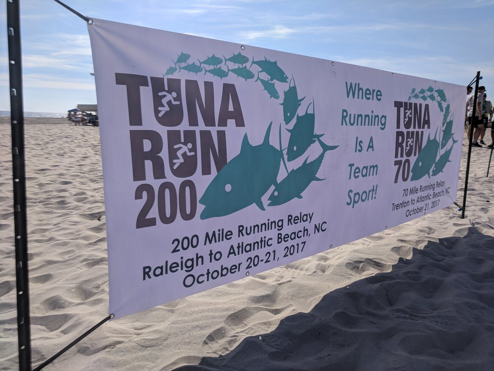 Tuna Run 200 Finish