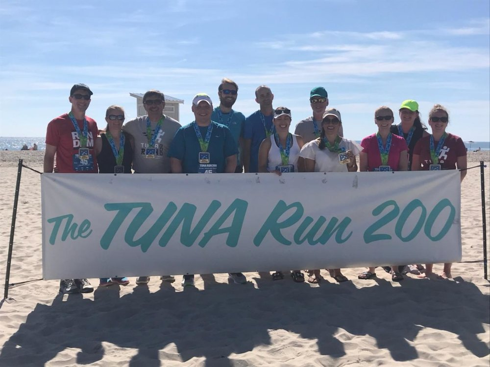 Tuna Run 200 Team Finish