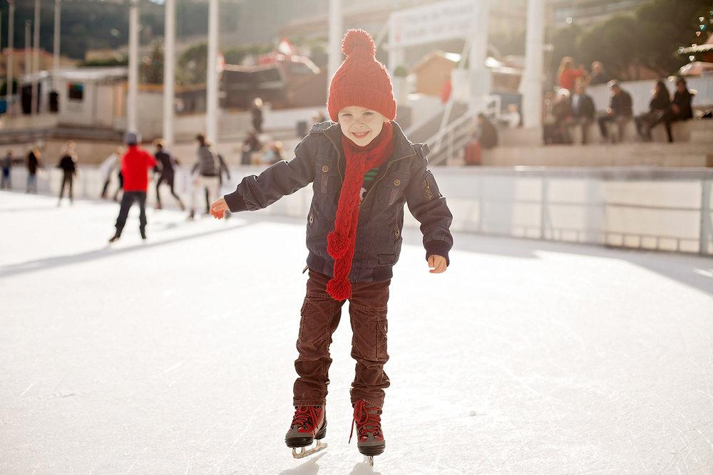 Ice skating! Licensed photo from Adobe Stock.