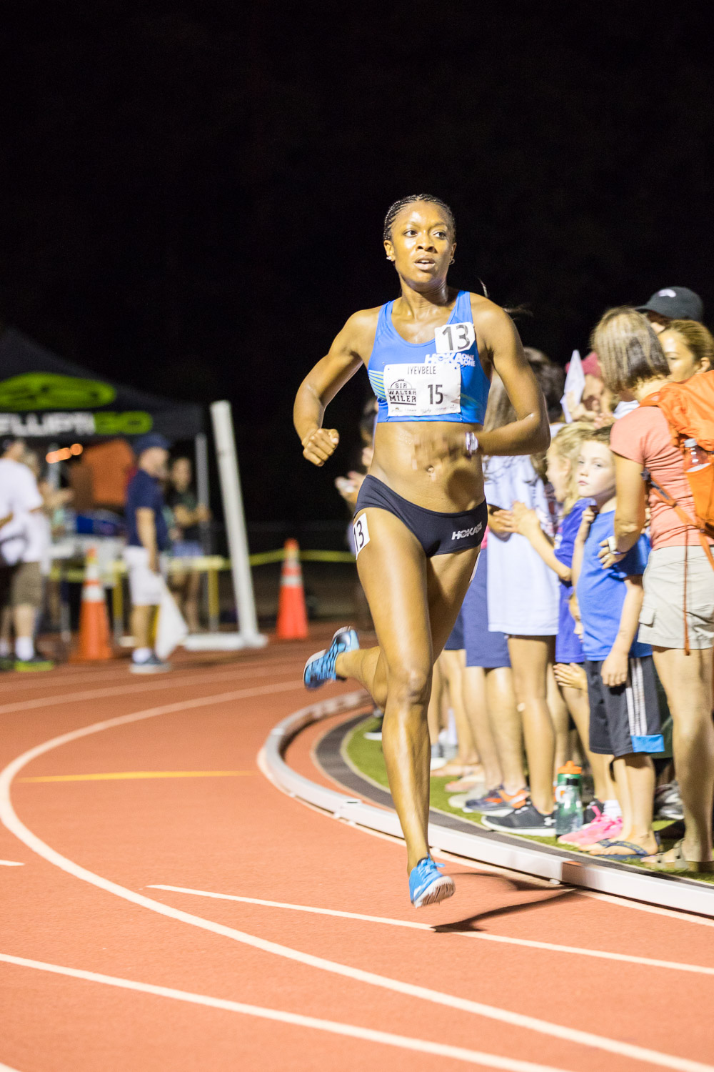 "Kenyetta Iyevbele, the ""rabbit"" for the 2017 Sir Walter Miler"