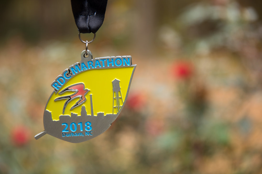 Run RDC Marathon Medal