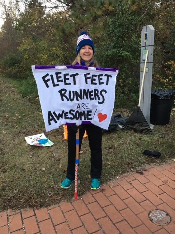 Yay Fleet Feet!