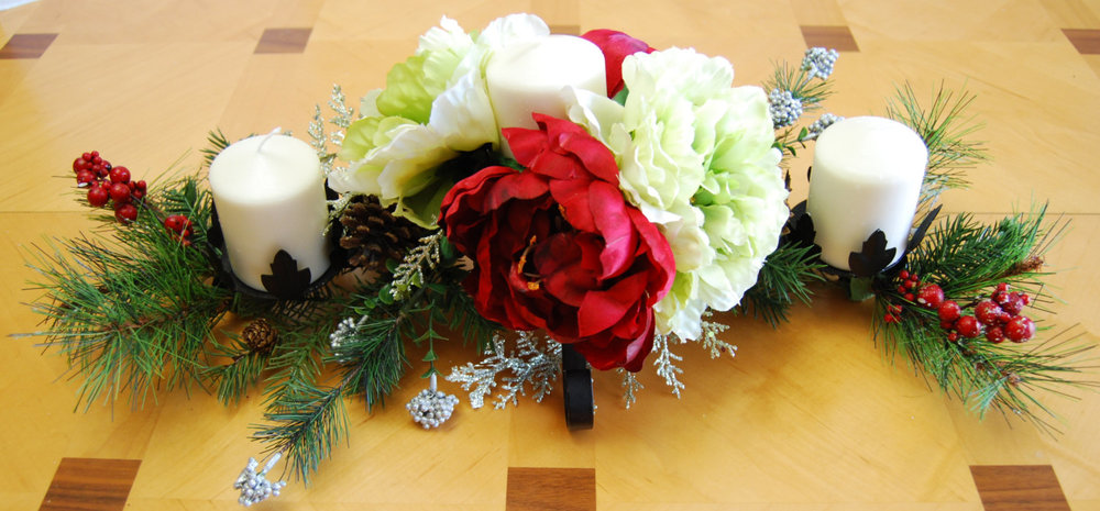Silk floral arrangement christmas candle centerpiece christmas silk floral arrangement christmas candle centerpiece christmas candle centerpiece christmas arrangements peonies arrangement mightylinksfo