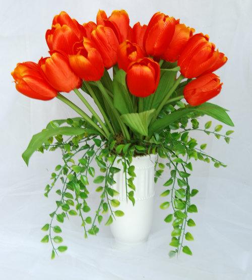 Silk Flower Arrangements Spring Arrangements Artificial Flower