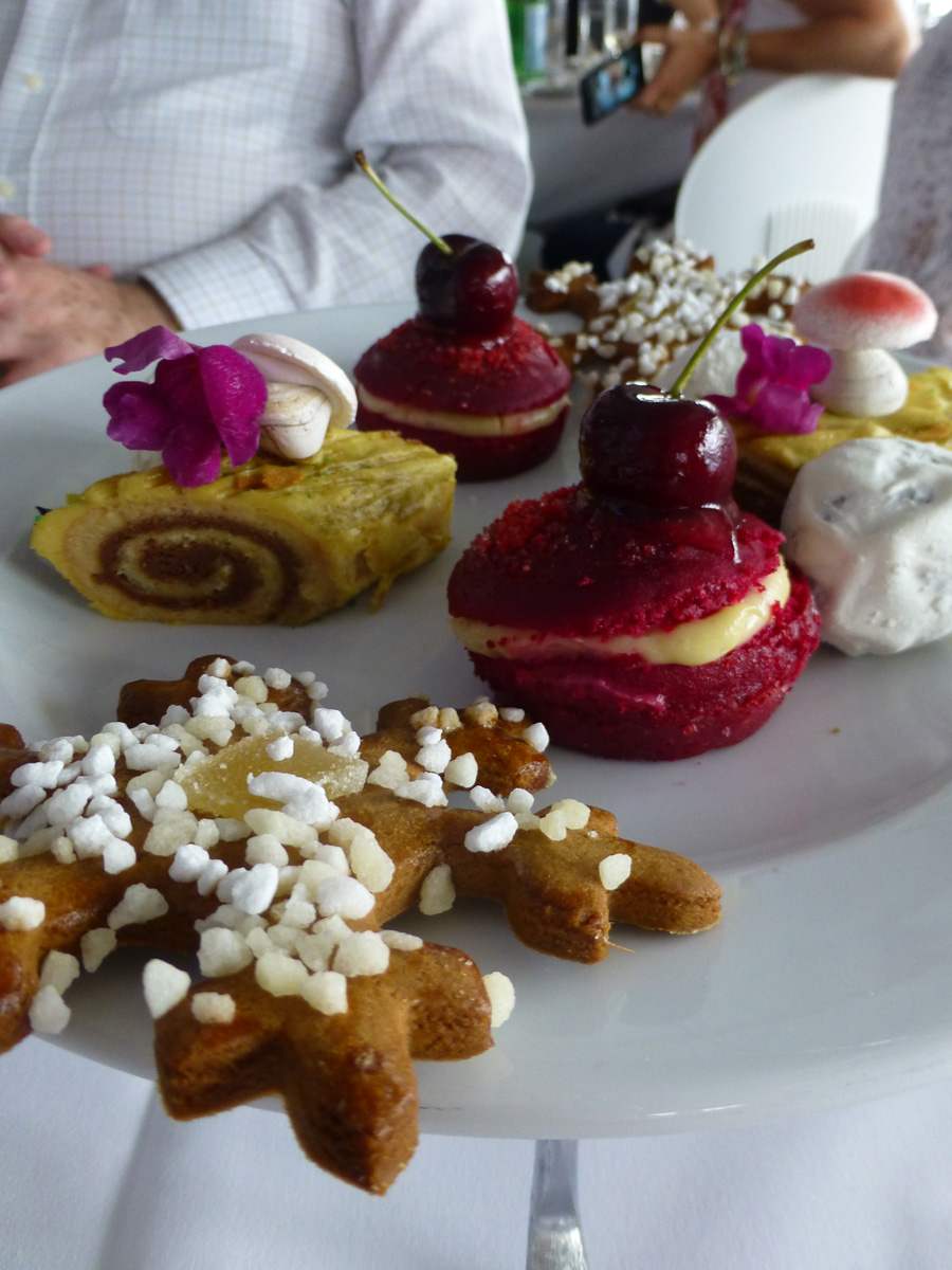 Sweet Christmas treats at the Patisse High Tea.