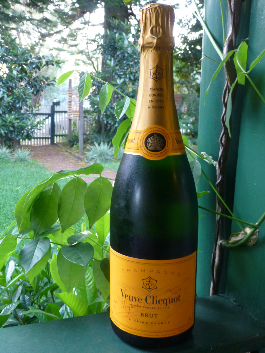 We capped it off with some very nice bubbles - the perfect celebration.