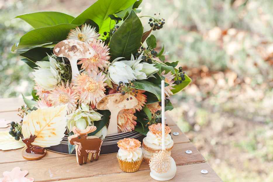 If I could have I would have decorated the whole table with flowers like these beauties…