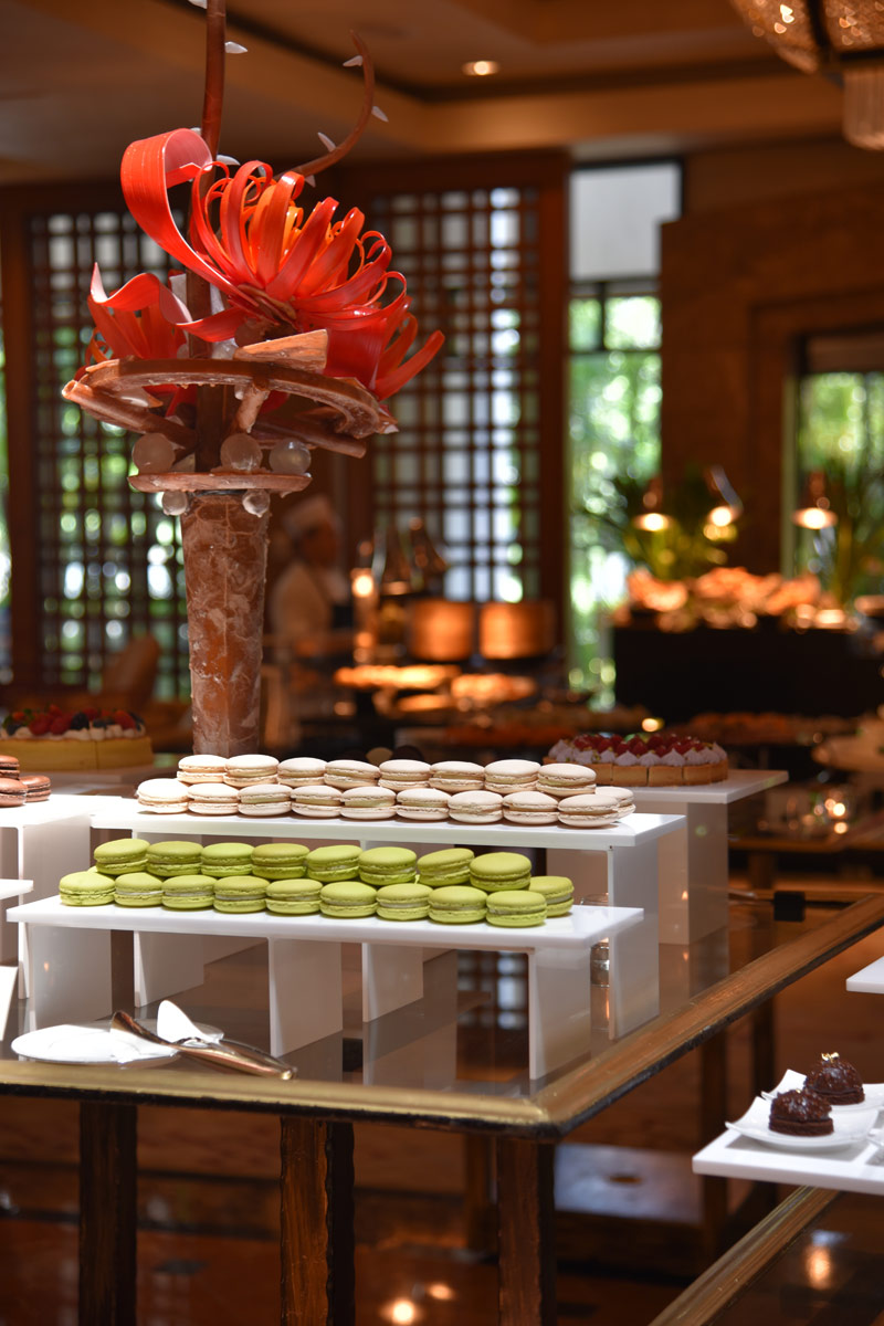 The afternoon tea spread at the Tea Lounge, Regent Four Seasons Hotel.