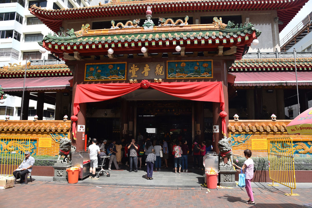 The next day was a day for my husband, we visited the kwan im thong hood cho temple dedicated to the Goddess of Mercy.